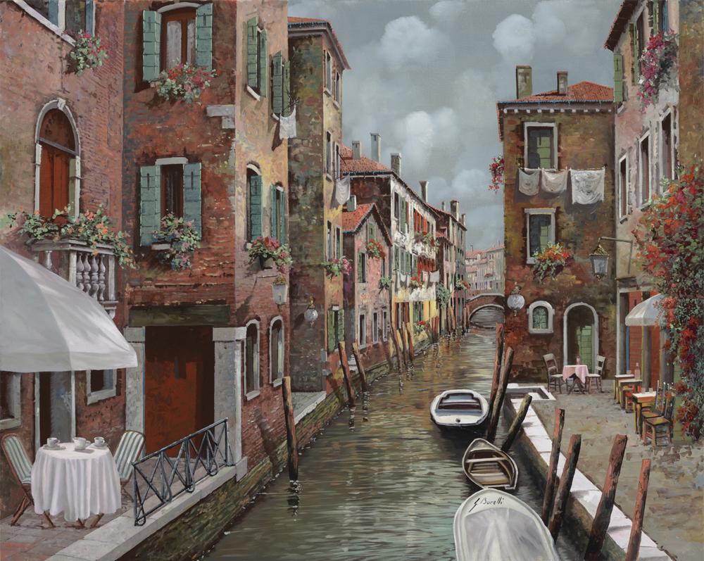 Европа на картинах художников