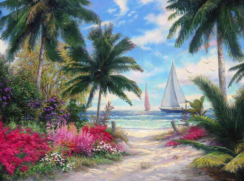 Открытки море пейзажи, для поздравления