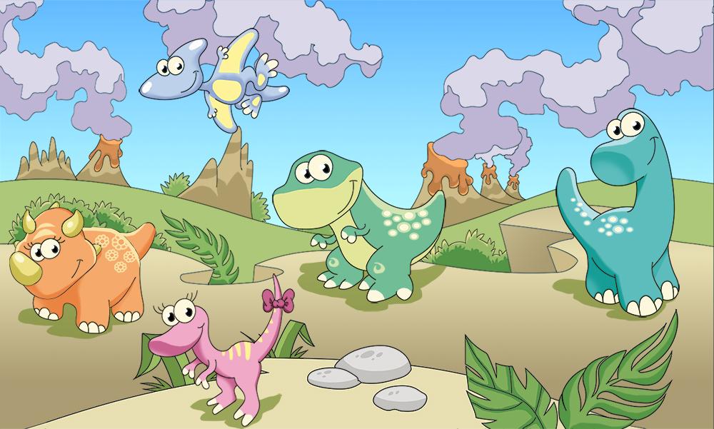 Динозавры картинки для детского сада