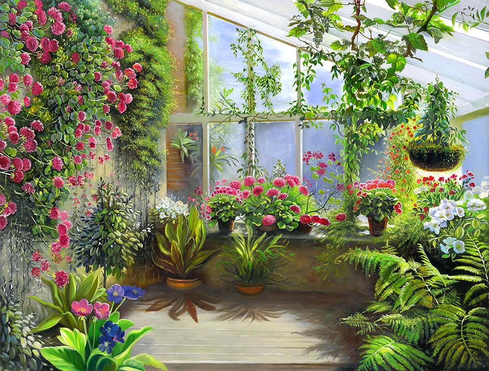 картинки цветы перспектива данном